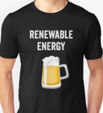 Beer Pint Reneable Energy Unisex T-Shirt