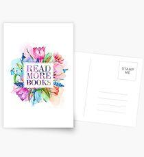 Lesen Sie weiter Bücher Pastel Postkarten