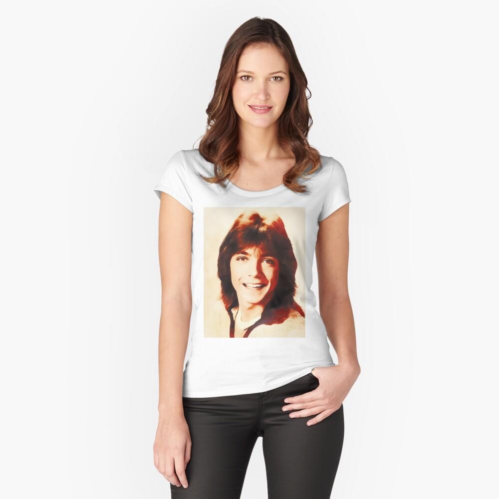 T-shirt échancré «David Cassidy, Star d'Hollywood»