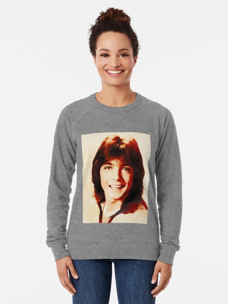 Sweatshirt léger ''David Cassidy, Star d'Hollywood': autre vue