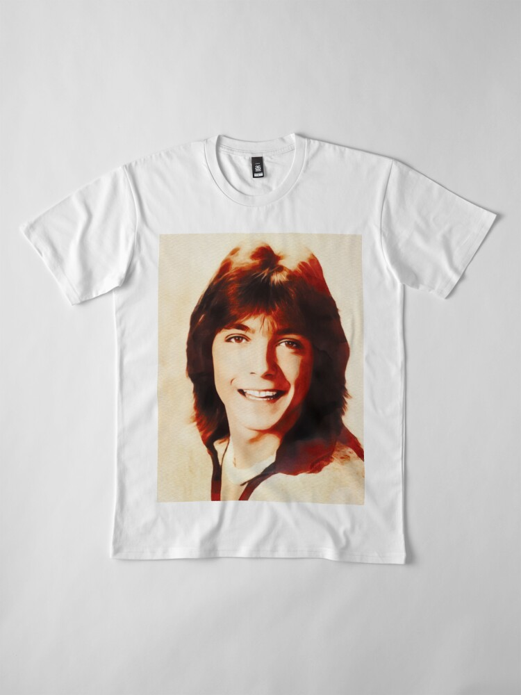 T-shirt premium ''David Cassidy, Star d'Hollywood': autre vue
