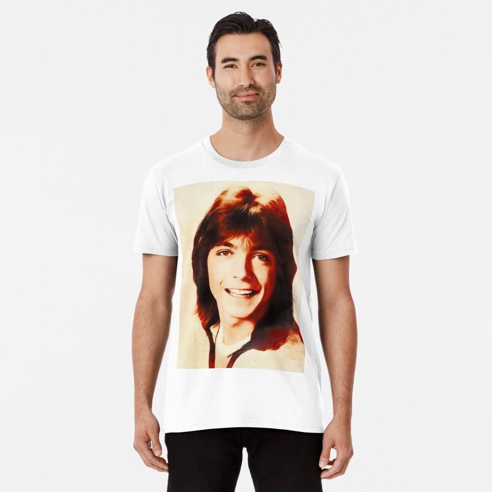 T-shirt premium «David Cassidy, Star d'Hollywood»