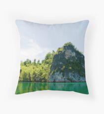Green & Tranquil Throw Pillow