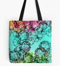 In my garden of colours Tote Bag
