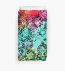 In my garden of colours Duvet Cover