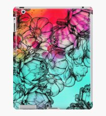 In my garden of colours iPad Case/Skin