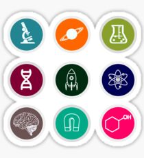 Our lovely sciences Sticker
