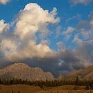 Grand Teton sky with clouds by Eivor Kuchta