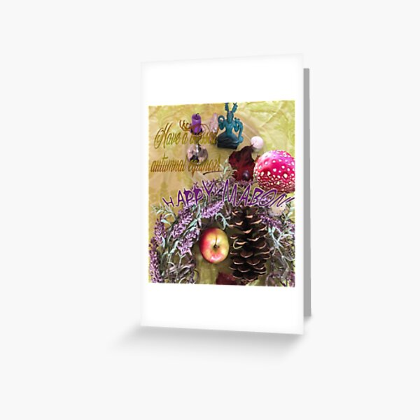 A discovery of witches Greeting Card