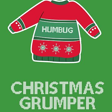 Christmas grumper by fashprints