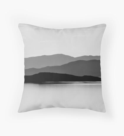 Oquirrh Mountains Throw Pillow