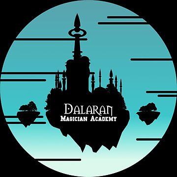 Dalaran Magic Academy by Mahkor