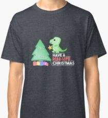 Dinosaur - Have a ROAR-SOME Christmas Classic T-Shirt