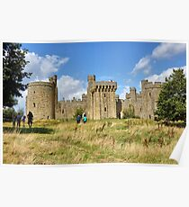 The Ruins of Bodium Castle in East Sussex, England Poster