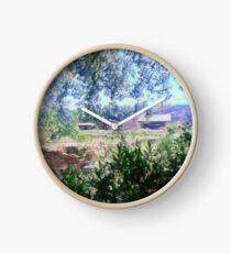 Italian Landscape Clock