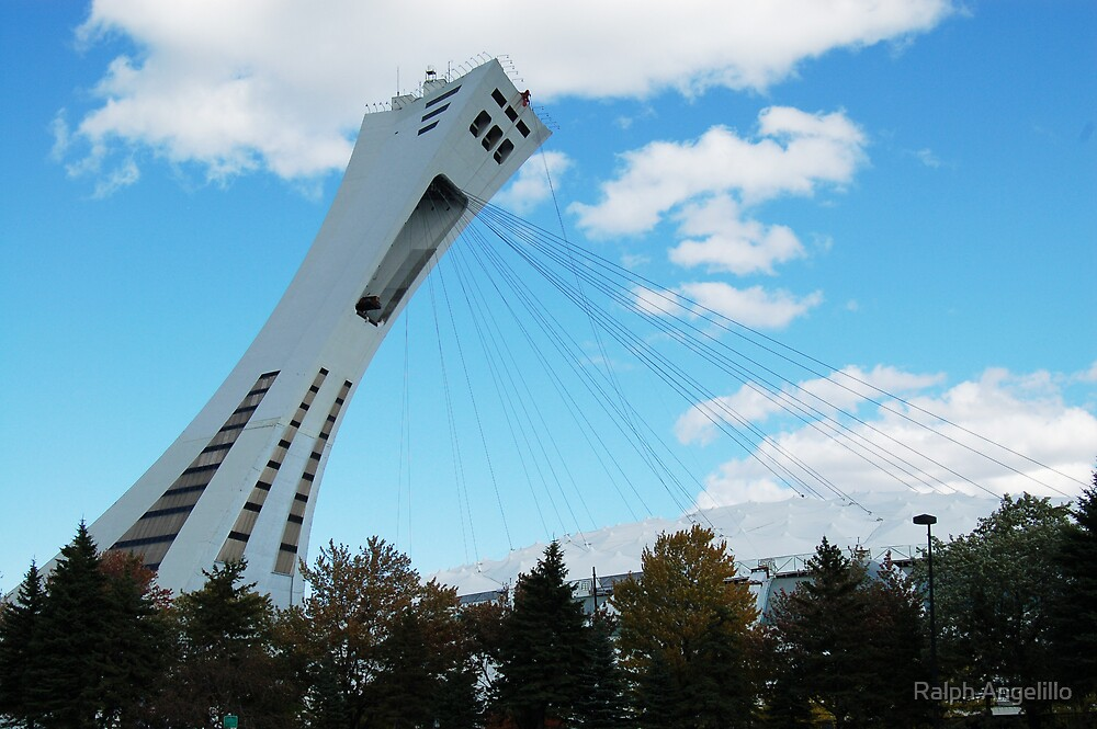 Montreal's Olympic Stadium by Ralph Angelillo