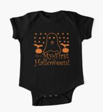 Halloween T-Shirts & Gifts: This is My First Halloween One Piece - Short Sleeve
