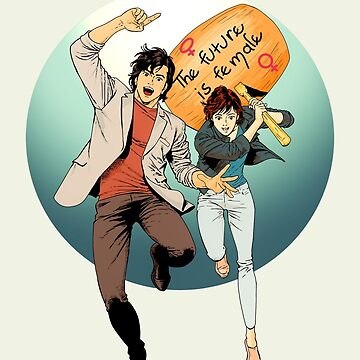 City Hunter The future is female by MimieTrouvetou