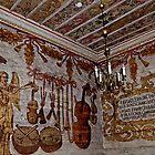 Wall paintings in church in Gasawa Poland by Elzbieta Fazel