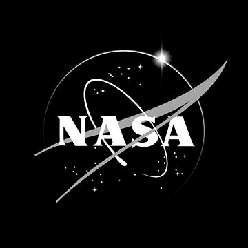 Nasa-Black and white-Logo by carlosafmarques