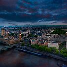 London sky by LudaNayvelt