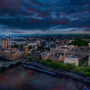 London sky by LudaNayvelt