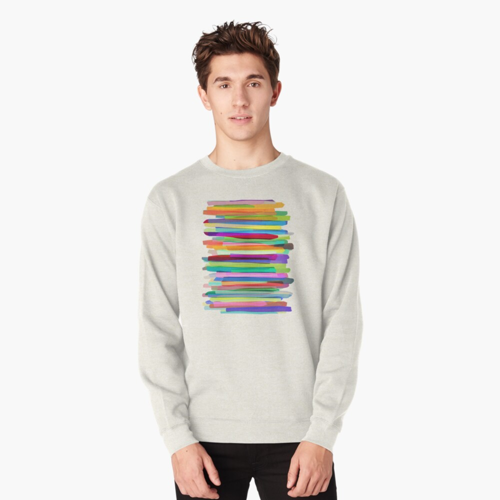 Colorful Stripes 1 Pullover