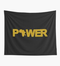 Black Power 2.0 Wall Tapestry