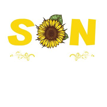 Funny Ain't No SON Sunshine Like The One I Got Sunflower shirt Graphic Print by mirabhd
