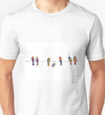 Show Off - Birds on a Wire Unisex T-Shirt