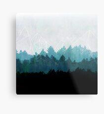 Woods Abstract Metal Print