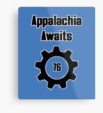 Appalachia Awaits - Fallout 76 Metal Print