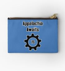 Appalachia Awaits - Fallout 76 Zipper Pouch
