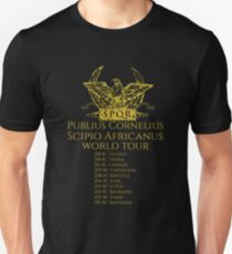 Scipio Africanus World Tour Slim Fit T-Shirt