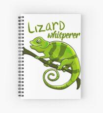 Cuaderno de espiral Camiseta Lizard Lover Camiseta Whisperer Gift Birthday
