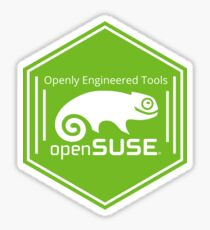 openSUSE hexagon sticker Sticker