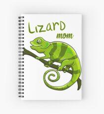 Cuaderno de espiral Camiseta Lizard Lover Camiseta Lizard Mom Gift Birthday