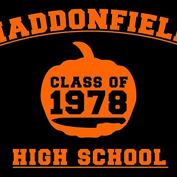Haddonfield High School by Numnizzle