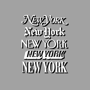 NEW YORK, NEW YORK - ICONIC TITLES by MelanixStyles