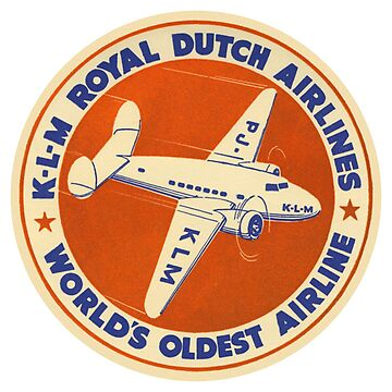 KLM - Royal Dutch Airlines by Bloxworth