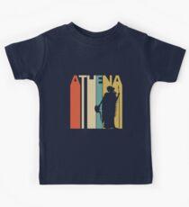 Vintage Retro Goddess Athena Kids Tee