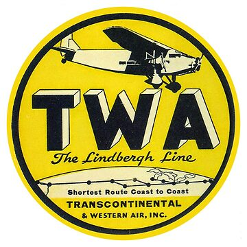 TWA - The Lindbergh Line by Bloxworth