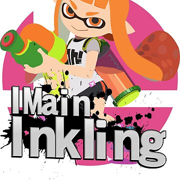I Main Inkling - Super Smash Bros. Ultimate by PrincessCatanna