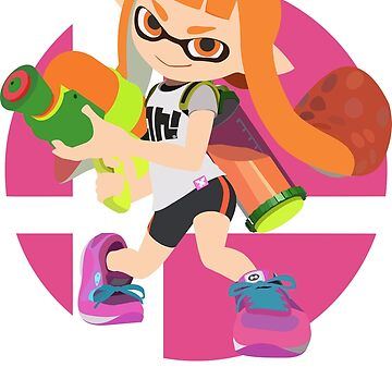 Inkling - Super Smash Bros. Ultimate by PrincessCatanna
