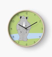 Nashörner sind die Besten Uhr