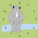 Nashörner sind die Besten von Simone Abelmann