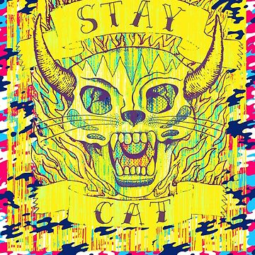 STAY CAT! by MUMtees