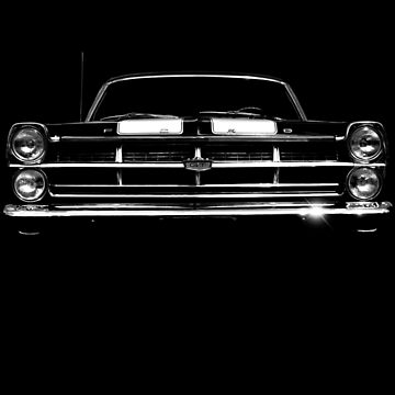 1967 Ford Fairlane GT - black shirt by hottehue