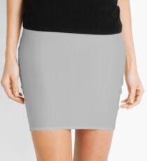 Silvery GREY Mini Skirt