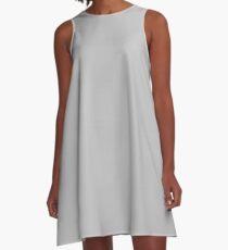 Silvery GREY A-Line Dress